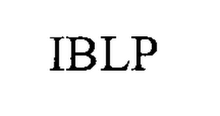 mark for IBLP, trademark #76492852