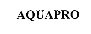 mark for AQUAPRO, trademark #76494997