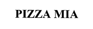 mark for PIZZA MIA, trademark #76499637