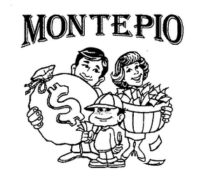 mark for MONTEPIO $, trademark #76500330