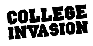 mark for COLLEGE INVASION, trademark #76501447