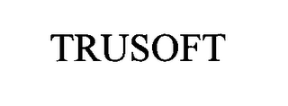 mark for TRUSOFT, trademark #76504287