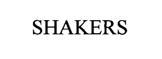 mark for SHAKERS, trademark #76506882