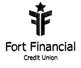 mark for FF FORT FINANCIAL CREDIT UNION, trademark #76507405