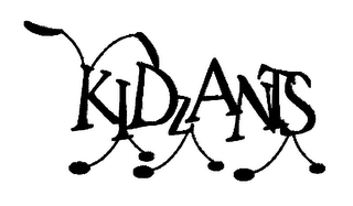 mark for KIDZANTS, trademark #76507979