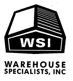 mark for WSI WAREHOUSE SPECIALISTS, INC, trademark #76512158