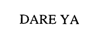 mark for DARE YA, trademark #76512852