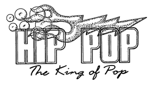 mark for HIP POP THE KING OF POP, trademark #76515575