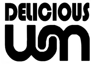 mark for DELICIOUS WM, trademark #76518367