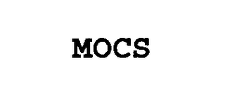 mark for MOCS, trademark #76518861