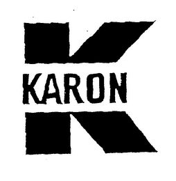 mark for K KARON, trademark #76519963