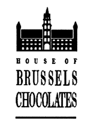 mark for HOUSE OF BRUSSELS CHOCOLATES, trademark #76523104