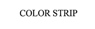 mark for COLOR STRIP, trademark #76529469