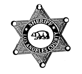 mark for LOS ANGELES COUNTY SHERIFF, trademark #76529551