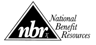mark for NBRX NATIONAL BENEFIT RESOURCES, trademark #76530778