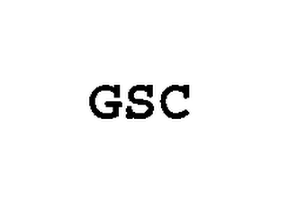 mark for GSC, trademark #76530907
