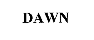mark for DAWN, trademark #76532414