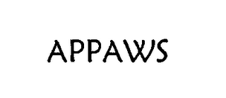 mark for APPAWS, trademark #76535128