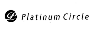 mark for P PLATINUM CIRCLE, trademark #76538018
