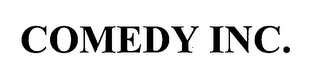 mark for COMEDY INC., trademark #76539028