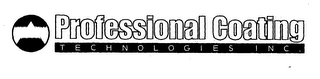 mark for PROFESSIONAL COATING TECHNOLOGIES INC., trademark #76544490