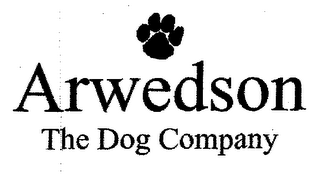 mark for ARWEDSON THE DOG COMPANY, trademark #76544899