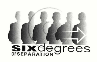 mark for SIXDEGREES OF SEPARATION, trademark #76546181