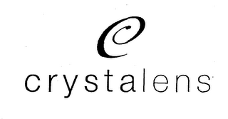 mark for C CRYSTALENS, trademark #76547011
