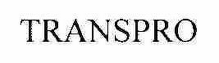 mark for TRANSPRO, trademark #76550751