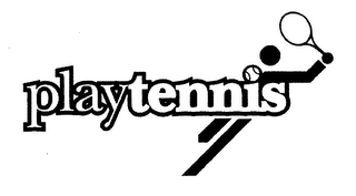 mark for PLAY TENNIS, trademark #76552321