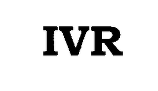 mark for IVR, trademark #76552684
