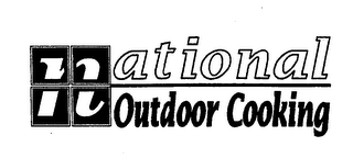 mark for NATIONAL OUTDOOR COOKING, trademark #76553918