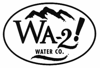mark for WA-2! WATER CO., trademark #76556555
