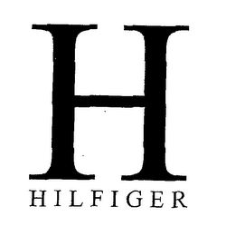 mark for H HILFIGER, trademark #76557128
