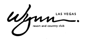 mark for WYNN. LAS VEGAS RESORT AND COUNTRY CLUB, trademark #76560202