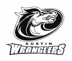 mark for AUSTIN WRANGLERS, trademark #76561009