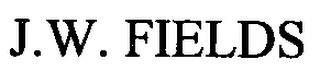 mark for J.W. FIELDS, trademark #76561580