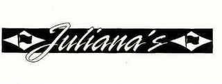 mark for JULIANA'S, trademark #76561590
