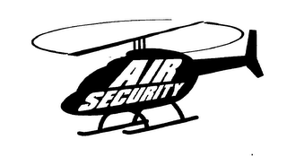 mark for AIR SECURITY, trademark #76563685
