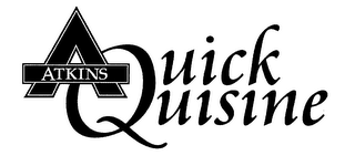 mark for A ATKINS QUICK QUISINE, trademark #76563972