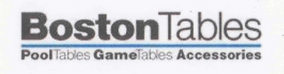 mark for BOSTON TABLES POOLTABLES GAMETABLES ACCESSORIES, trademark #76564511