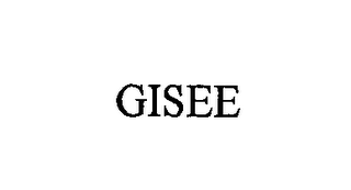mark for GISEE, trademark #76564696
