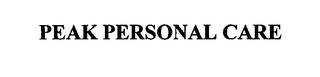 mark for PEAK PERSONAL CARE, trademark #76565434