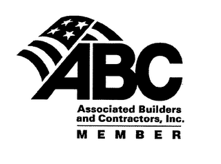 mark for ABC ASSOCIATED BUILDERS AND CONTRACTORS, INC. MEMBER, trademark #76565624