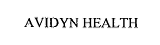 mark for AVIDYN HEALTH, trademark #76566372