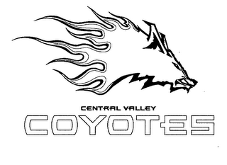 mark for CENTRAL VALLEY COYOTES, trademark #76569862