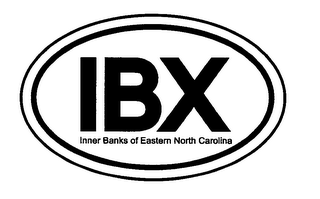 mark for IBX INNER BANKS OF EASTERN NORTH CAROLINA, trademark #76570732