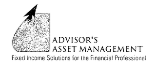 mark for ADVISOR'S ASSET MANAGEMENT FIXED INCOME SOLUTIONS FOR THE FINANCIAL PROFESSIONAL, trademark #76570834