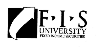 mark for FIS UNIVERSITY FIXED INCOME SECURITIES, trademark #76571598