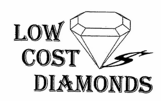 mark for LOW COST DIAMONDS, trademark #76572069
